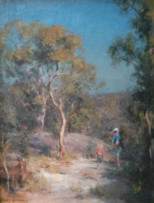 Bushwalk Berowra (45x61cm)