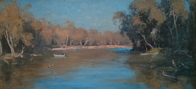 Murray River (61x30cm)