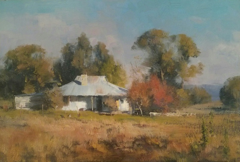 Autumn Tumut (45x30cm)