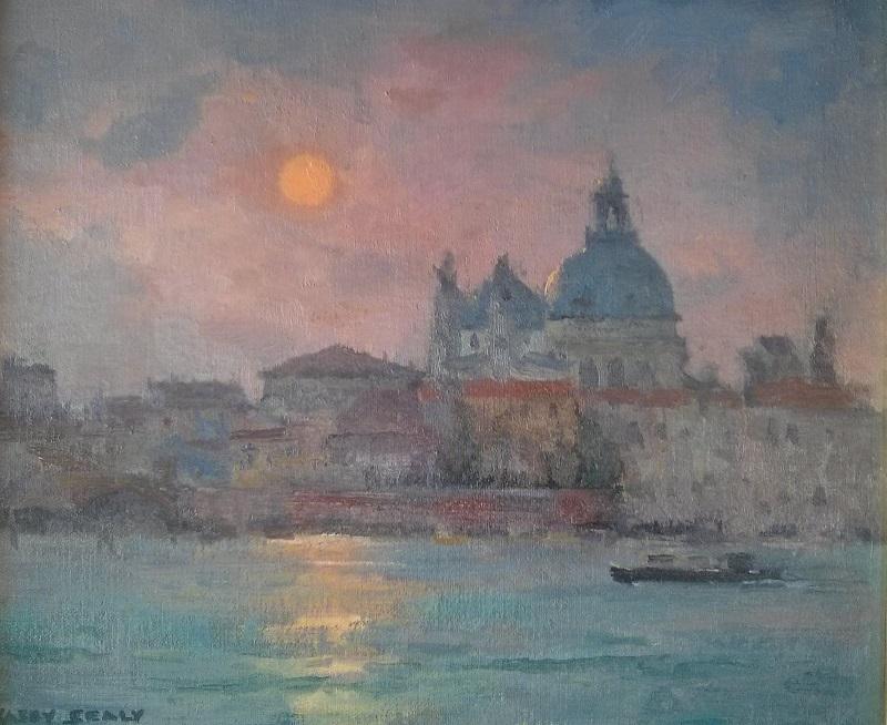 Sunset Venice (30x25cm)