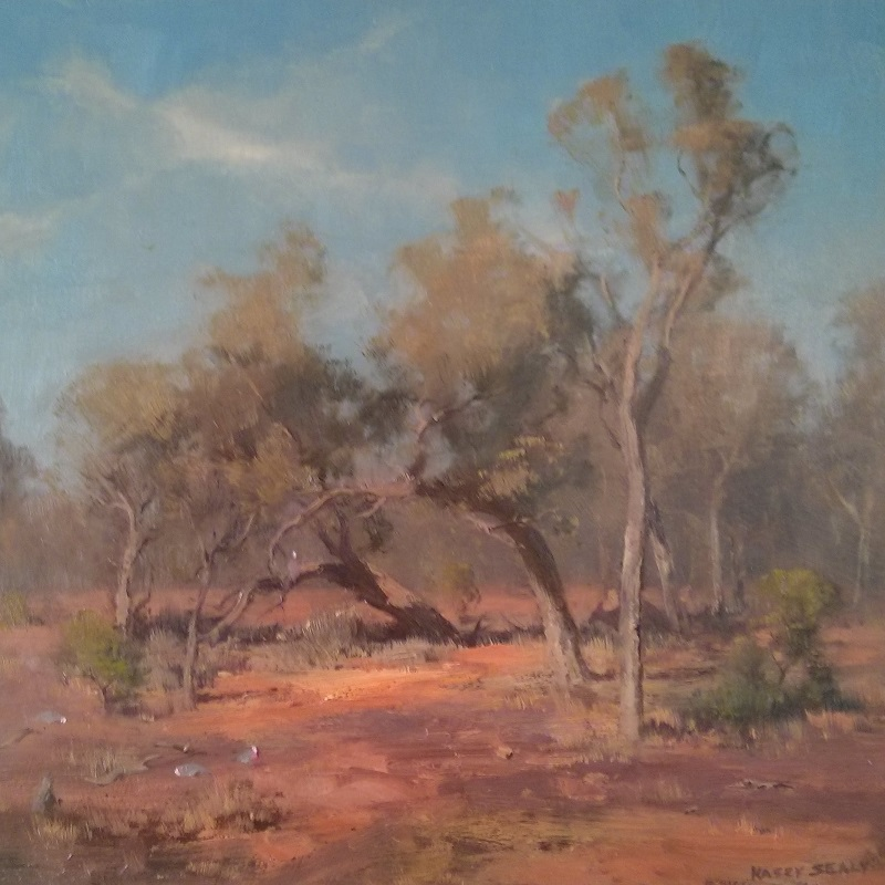 Yowah Landscape (40x40cm)