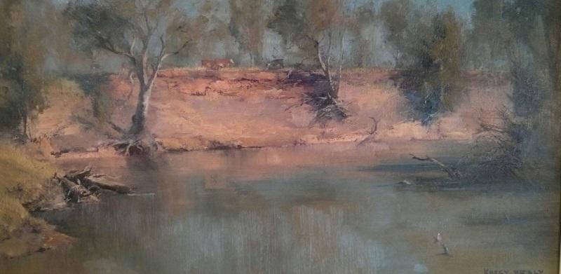 Namoi River (61x30cm)