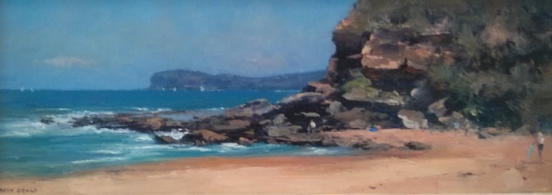 Killcare Looking South (61x28cm)