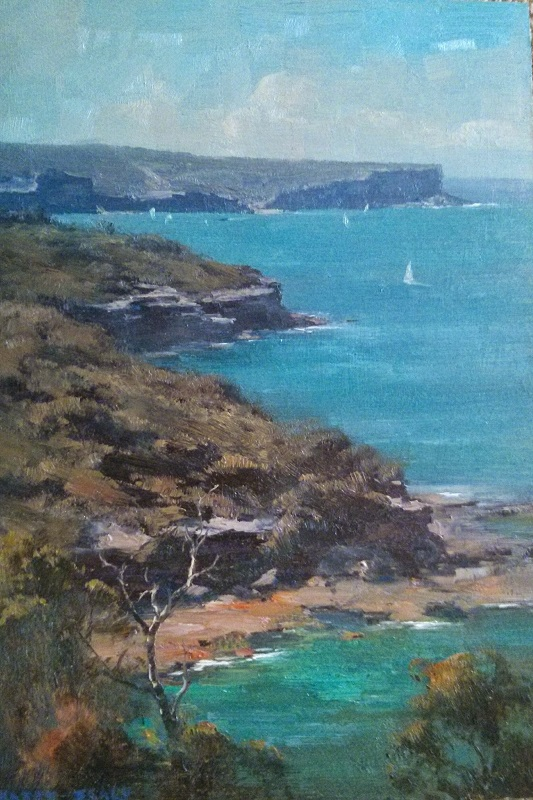 North Head (30x45cm)