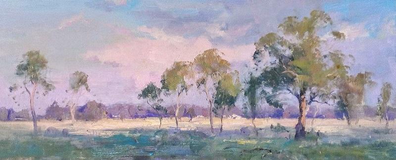 Forbes Landscape (40x28cm)