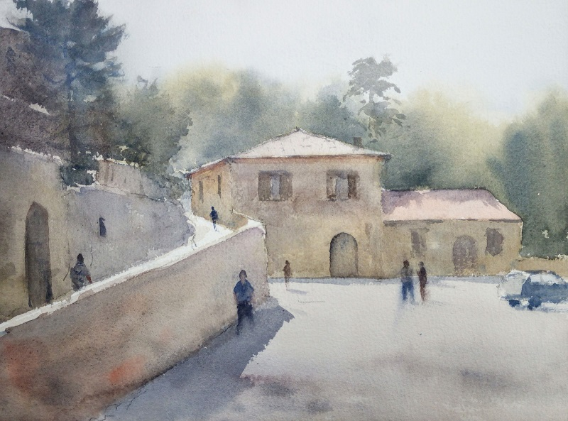Lucignano (31x23cm) wc
