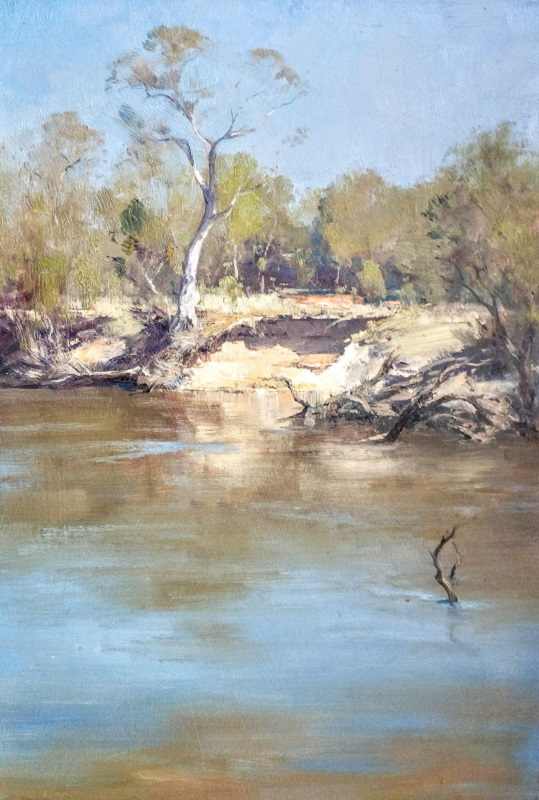Murray River, Echuca (30x45cm)