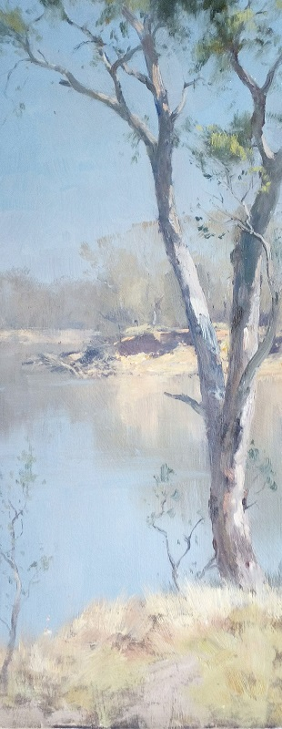 Murray River Glimpse (16x40cm)