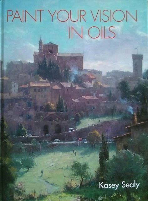 Paint Your Vision In Oils Book - Cover