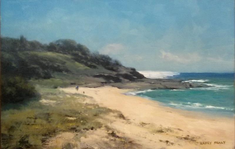 Sunshine Coast Beach (45x30cm)