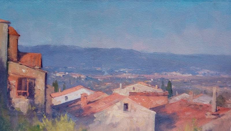 Tuscan Vista (45x25cm)