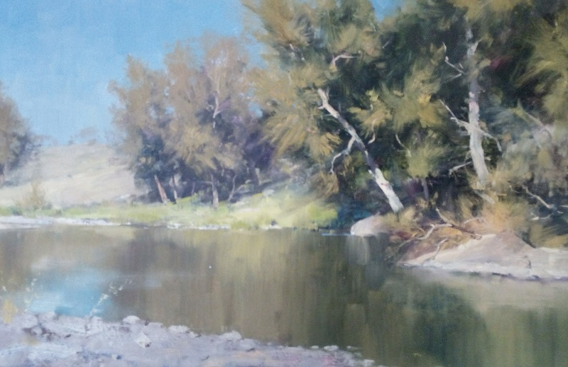 Krui River (45x30cm)