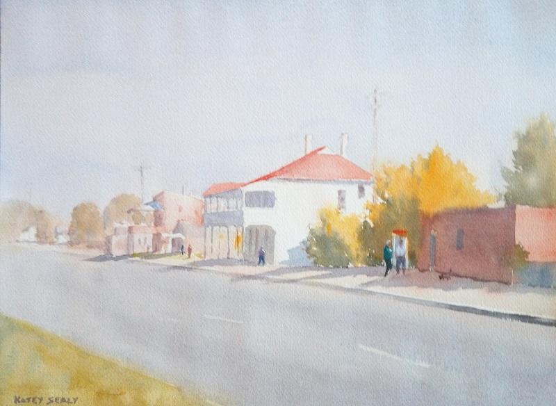 Main Street Dookie (38x28cm) wc