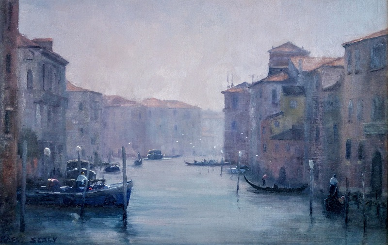 Mornings Atmosphere Venice (46x30cm)