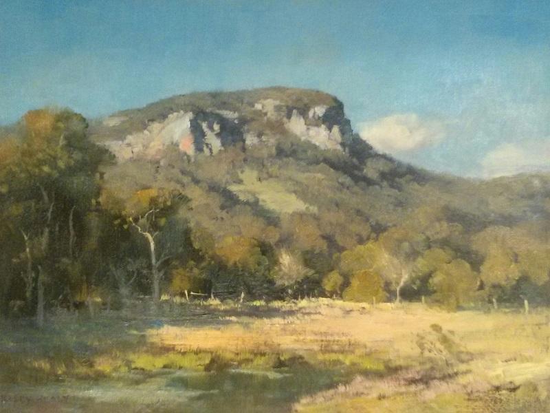 Mount Ninderie Qld (45x38cm)