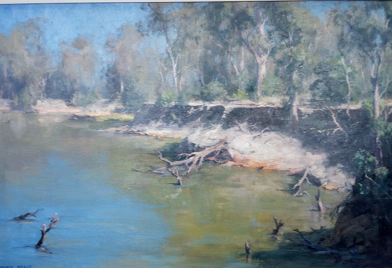 Murray River at Strathmerton (90x60cm)
