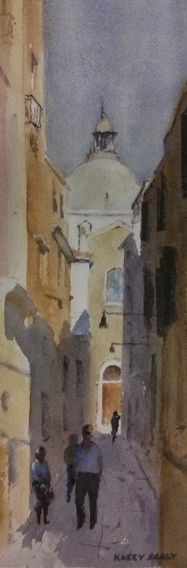 Venice Glimpse (18x33cm) wc