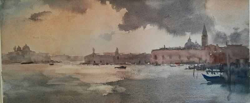 Moody Light Venice (30x26cm) wc